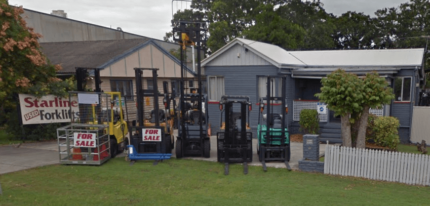 starline forklifts about us