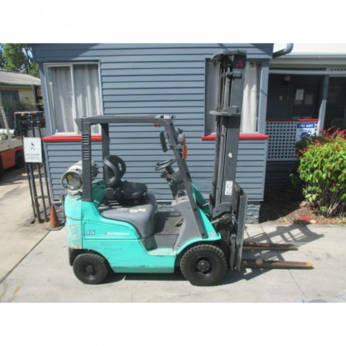 Mitsubishi 1.5 ton, LPG, low hours Used Forklift  #1451