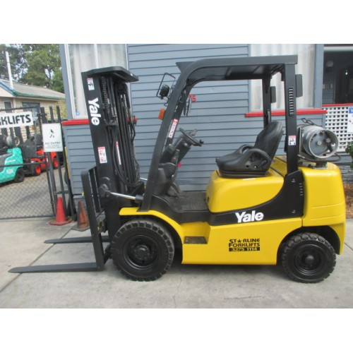 Yale 2.5 ton Container Mast Used Forklifts  #1482