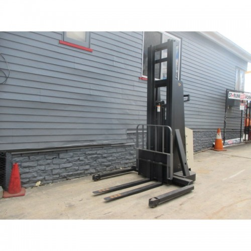 Crown 1 ton Walkie Stacker current model #1566