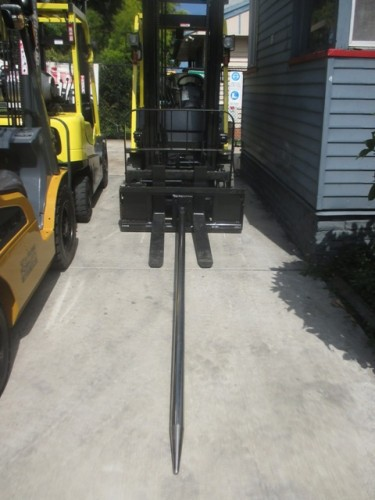 Carpet/Turf Pole–Dedicated New Forklift Attachment   $TBA #A09 (a)